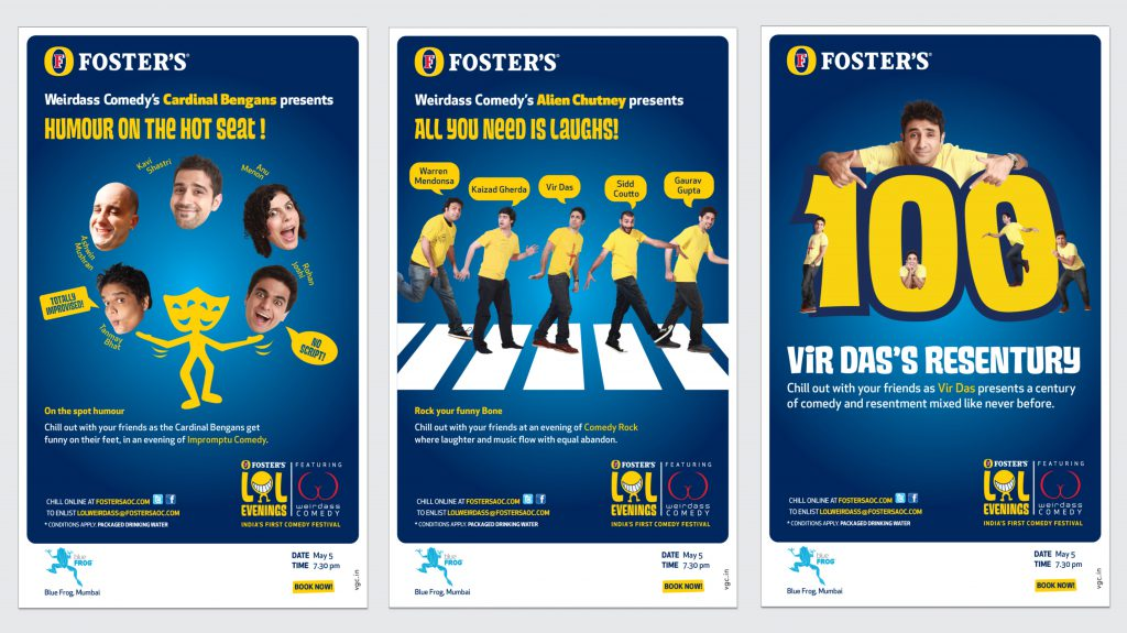 Foster's Activation