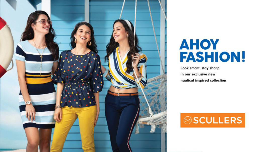 Ahoy Fashion Scullers