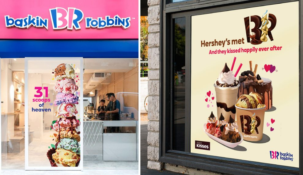 Baskin Robbins Brand identity